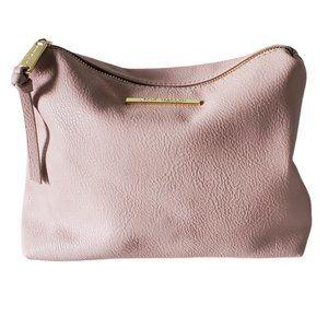 Steve Madden Pink Clutch Cosmetic Travel Bag EUC